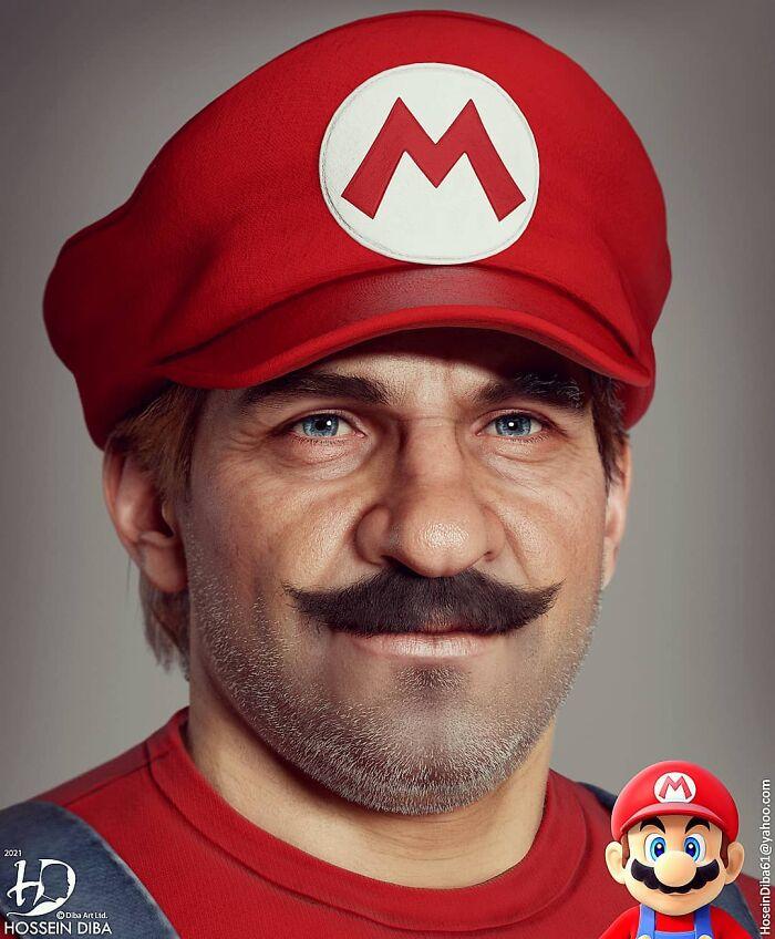Mario de SuperMario
