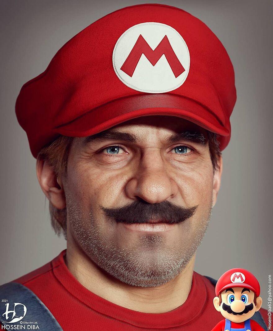 Mario From Super Mario