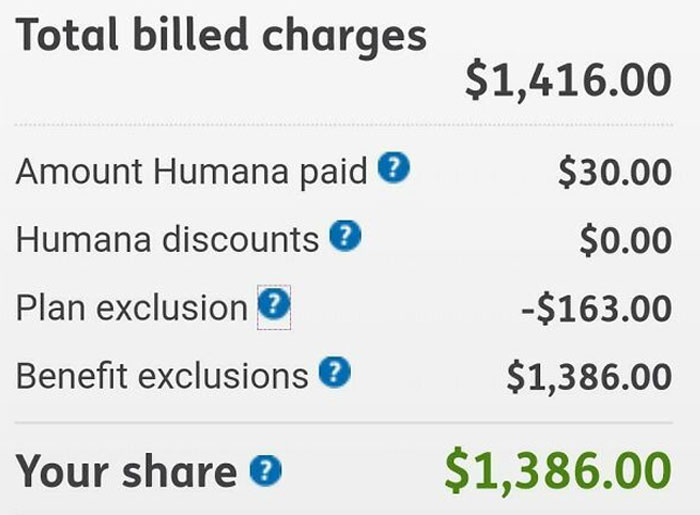 I Bought Dental Insurance Specifically So I Could Afford To Get My Wisdom Teeth Removed. Humana Deducted Less Than What I Pay Them Monthly From My Medical Bill