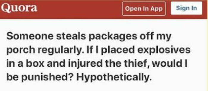 Hypothetically