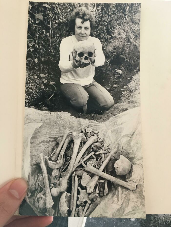 So My Aunt Casually Tells Me Today That She Once Found A Ton Of Skeletons In Her Garden