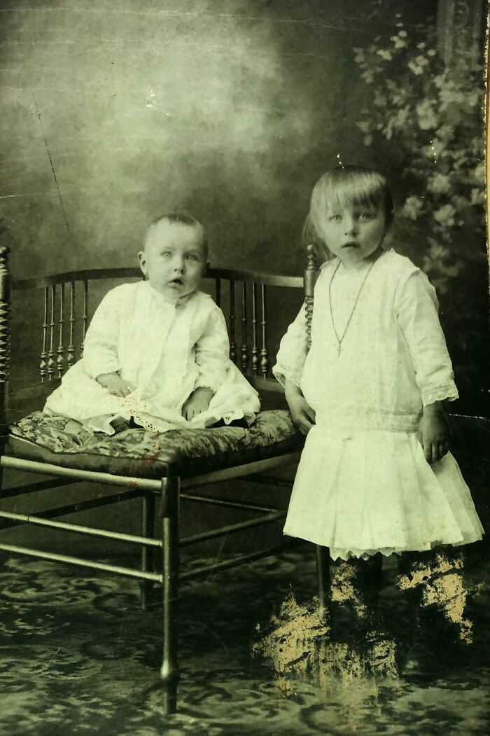 My Grandfather And His Sister