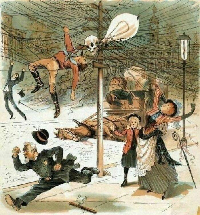 Anti-Electricity Propaganda From 1900