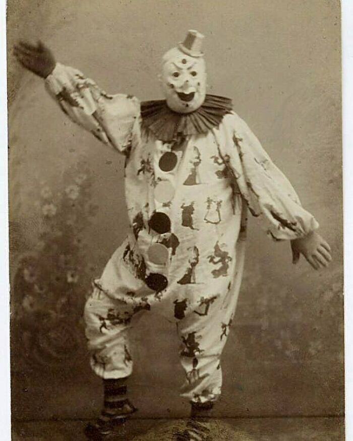 A Happy Clown From The Early 1900s