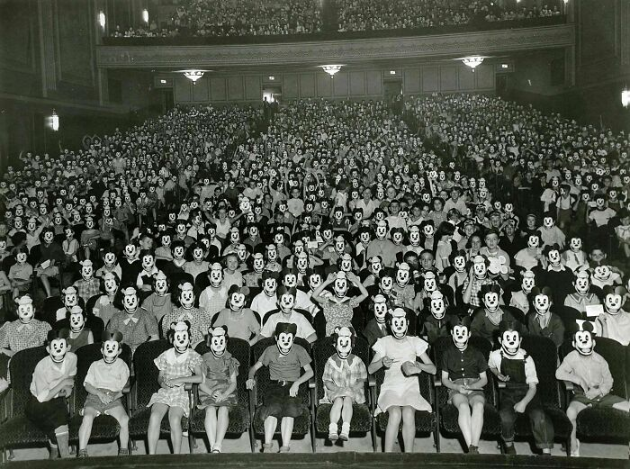 Meeting Of The Mickey Mouse Club In The 1930's