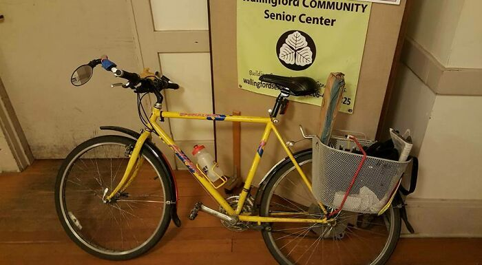 Bought It In '88 With Money My Grandmother Left Me. My Mother Was Upset That I Spent My Inheritance On Something As Ephemeral As A Bicycle. I've Ridden Thousands Of Miles On It, Including A Double Century In 2000. Now It's My Townie Bike, For Shopping, Commuting, And Errands