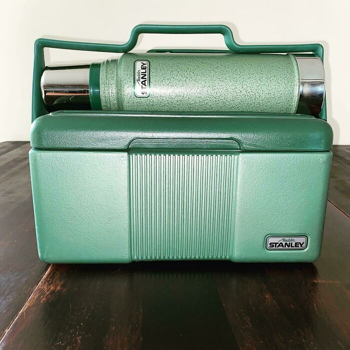 Lunch Box From '89. Thermos From '97. New Old Stock. I'm So Excited