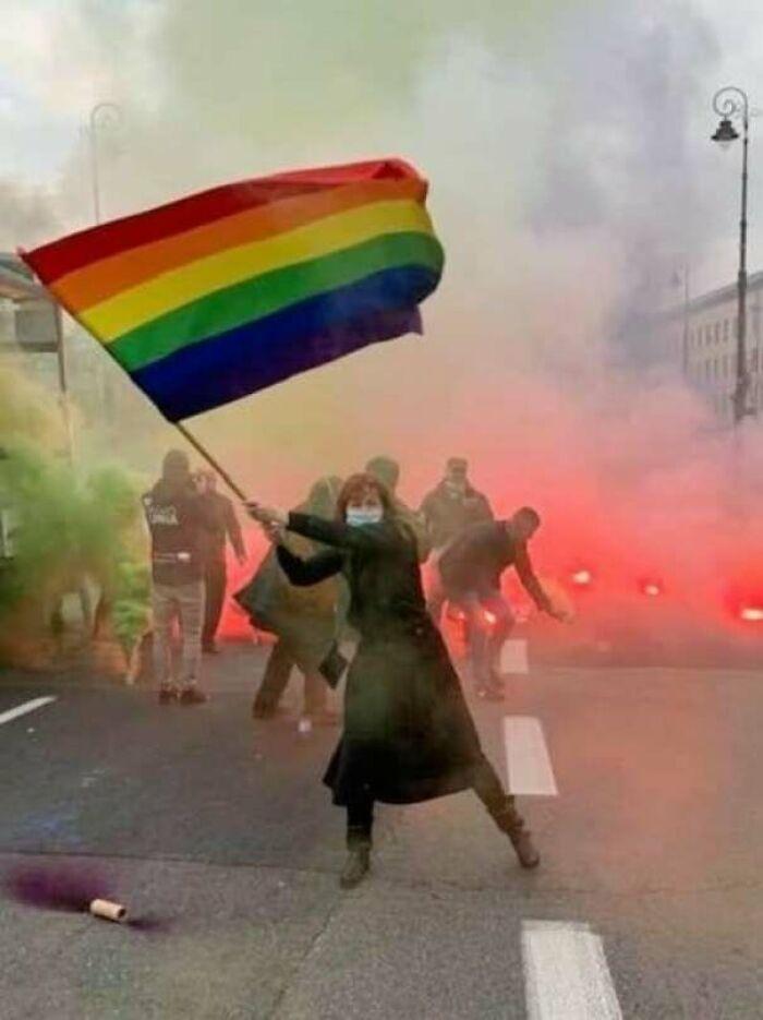 Mujeres polacas luchando por sus derechos
