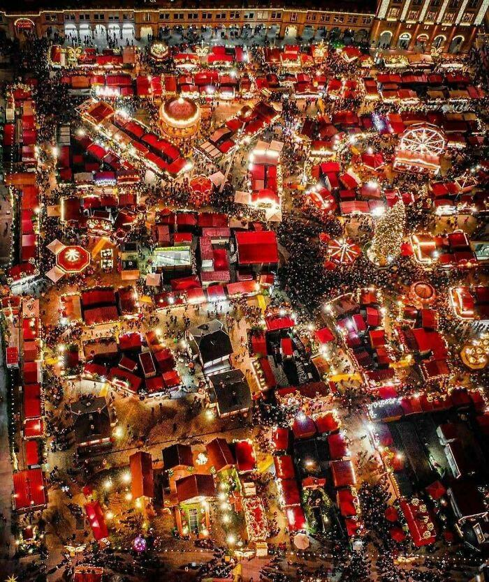 Mercado navideño de 2019 en Dresden, Alemania