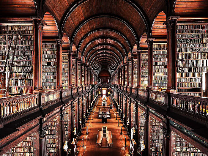 Trinity College en Dublín, Irlanda