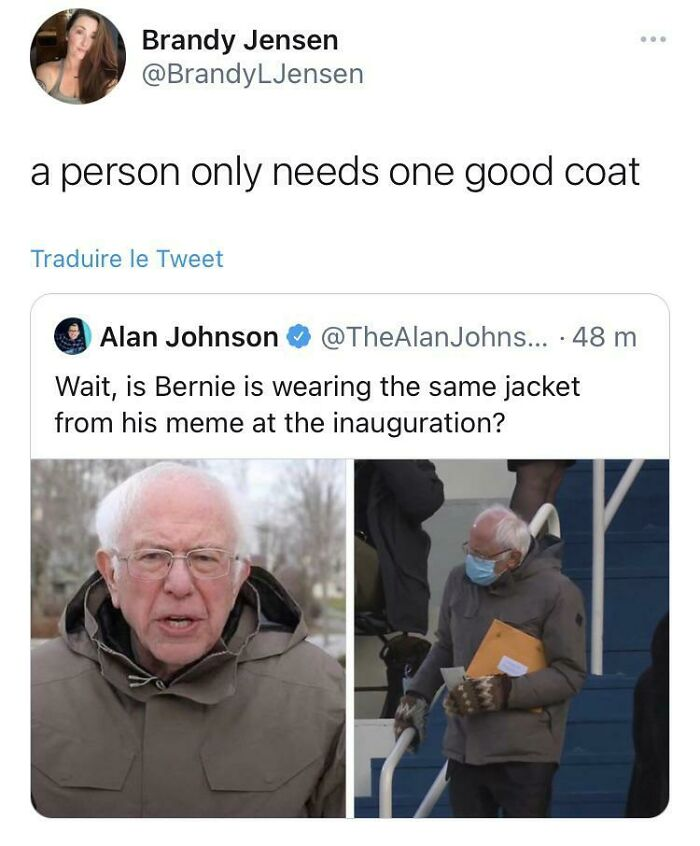 Bernie Showing Us All The Way