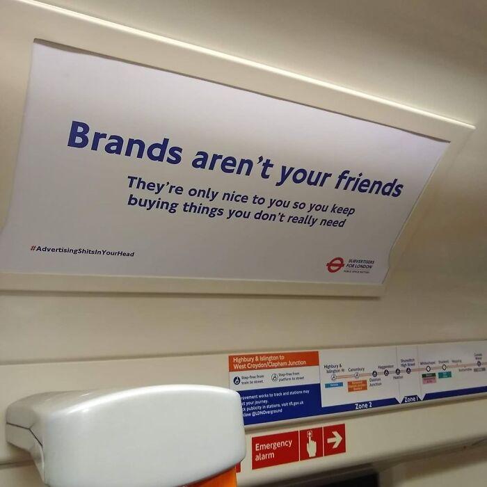 Brands Aren't Your Friends