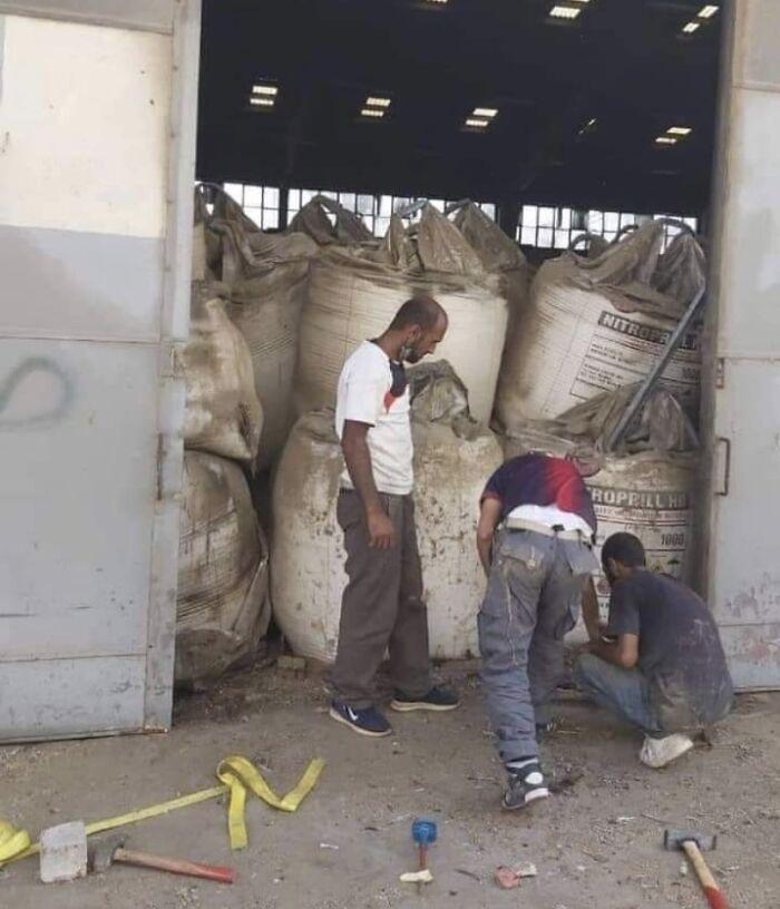 August 4, 2020: Storage Before The Blast, Beirut