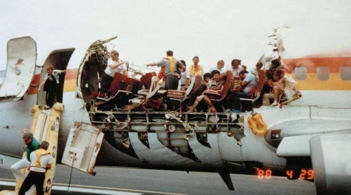 April 28, 1988: The Roof Of An Aloha Airlines Jet Ripped Off In Mid-Air At 24,000 Feet