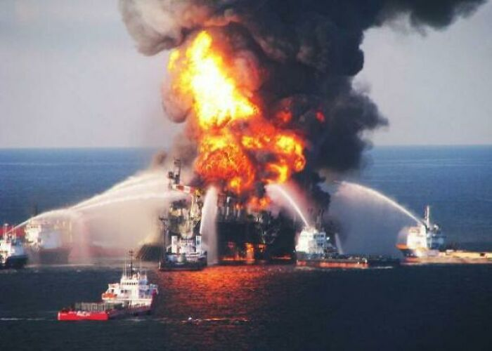 April 20, 2010: The Oil Rig Deep Water Horizon Suffered A Catastrophic Blowout