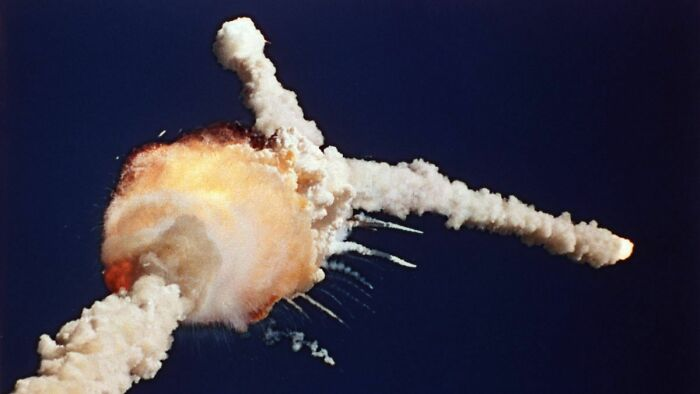 35 Years Ago, Space Shuttle Challenger Disintegrated And Killed All 7 Crew, Due To Failure Of A Joint In The Right Srb, Which Was Caused By Inability Of The Srb's O-Rings To Handle The Cold Temperatures At Launch