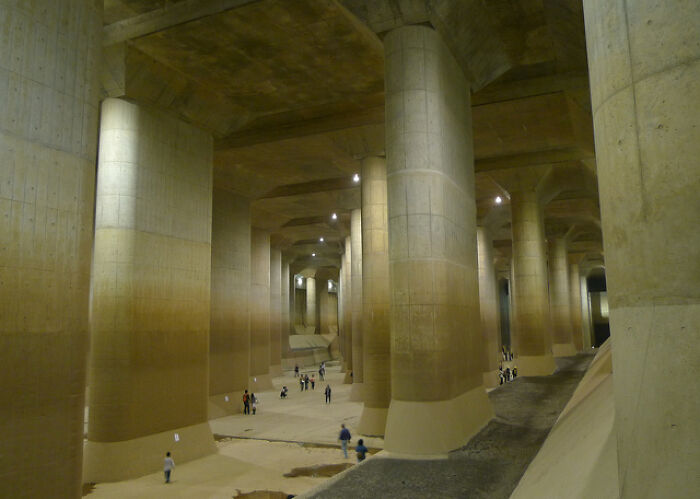 Túneles de inundación de Tokio