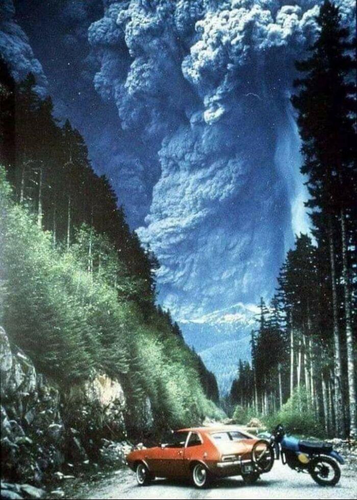 Erupción del Monte Santa Helena, 1980