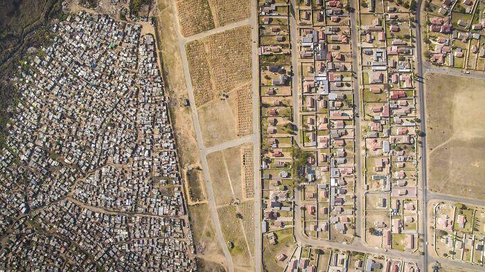 La desigualdad en Tembisa, Sudáfrica