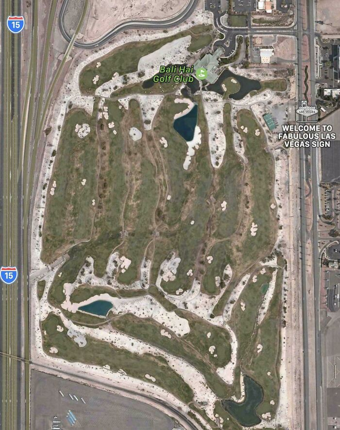 Not Sure If This Fits The Sub, Gallons And Gallons Of Water Wasted Just To Keep Lush Green Golf Fields In The Middle Of The Desert