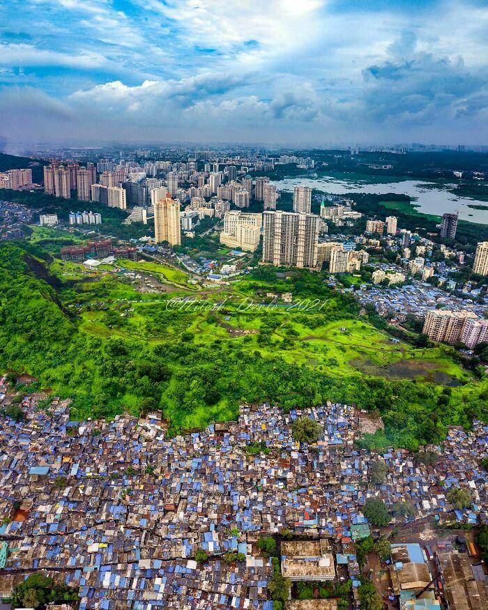 Desigualdad en Mumbai, India