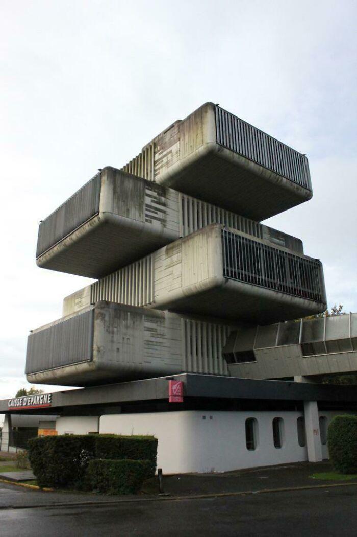 Un famoso banco de Pau, Francia