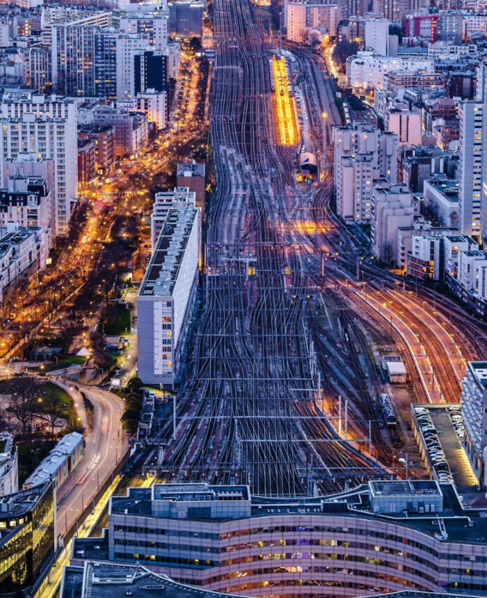 Paris, France. A Studio In The Building Between The Boulevard And The Train Rails Highways Starts At 800€/Months. If You Qualify!