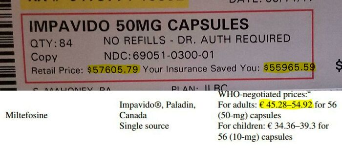 Insurance Just Paid $57,605.79 For Medication That Costs Under $100 Anywhere Else