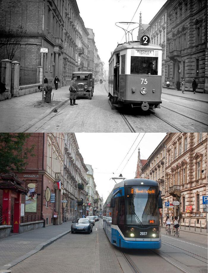 Kraków, Poland (1939 And 2010s)