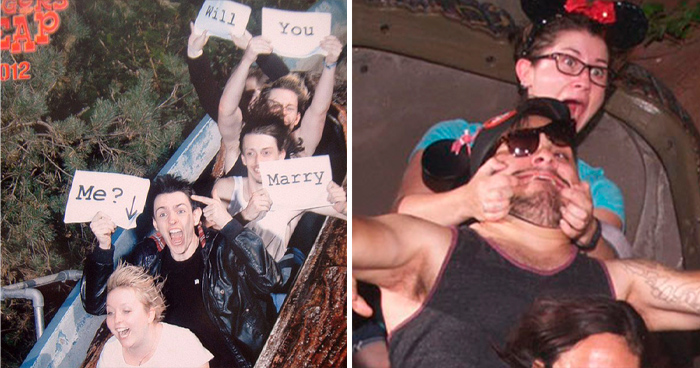"""""""Go To A Theme Park, They Said. It'll Be Fun, They Said"""" – 50 Of The Funniest Rollercoaster Photos (New Pics)"""