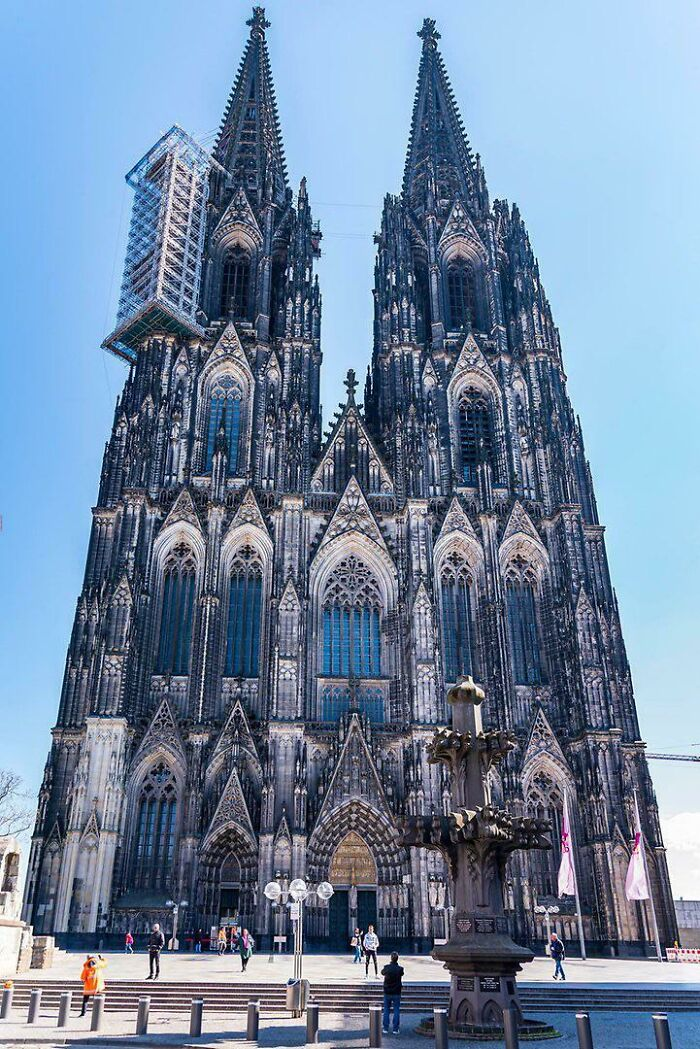 Cologne Cathedral. Masterpiece Of Gothic Architecture. Years Build : 1248 - 1880