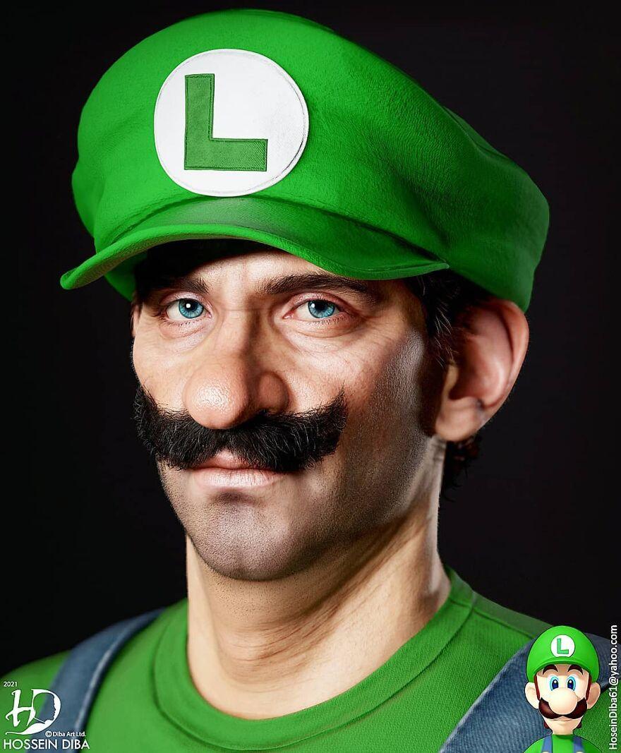 Luigi From Super Mario