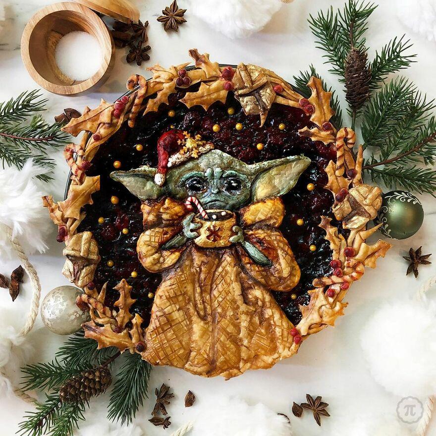 Raspbaby Yoda Pie
