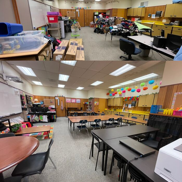 My Classroom (It Was Previously Used For Storage)