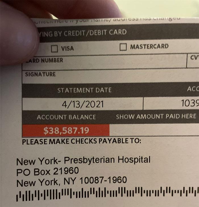 Just Got My $39k Hospital Bill For Having A Stroke At 34