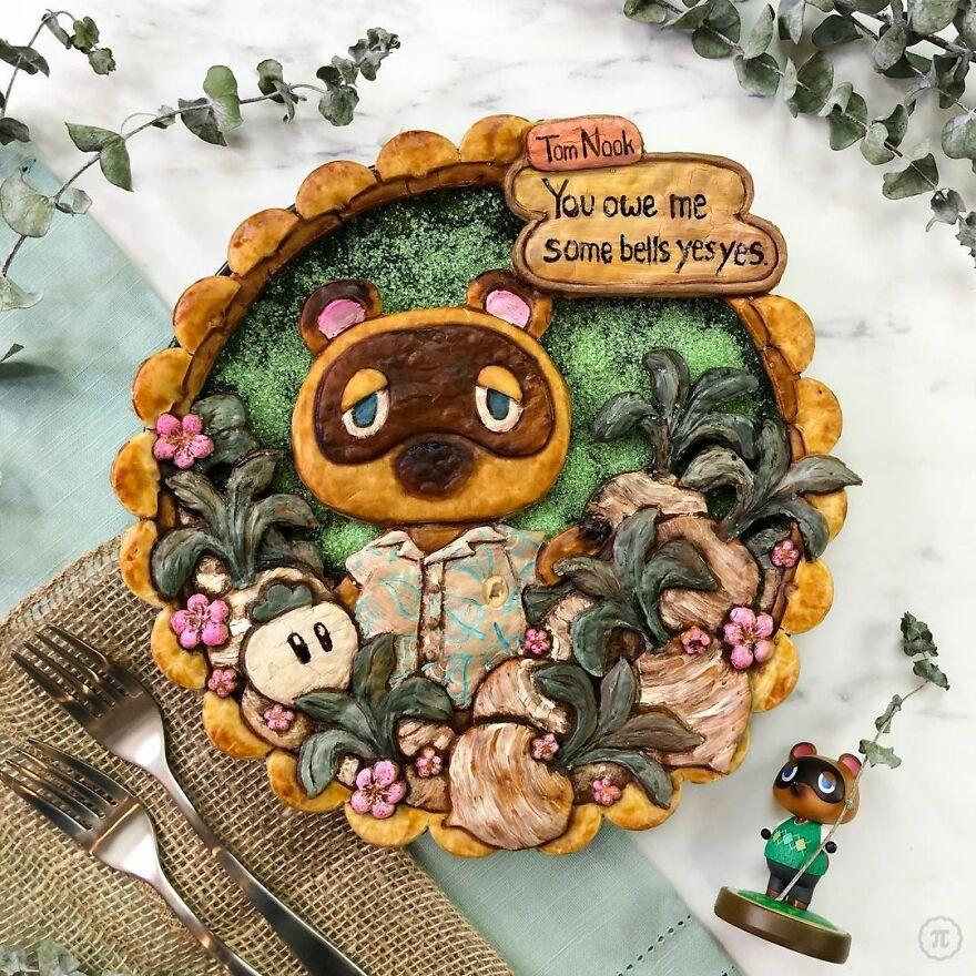 Animal Crossing Pie