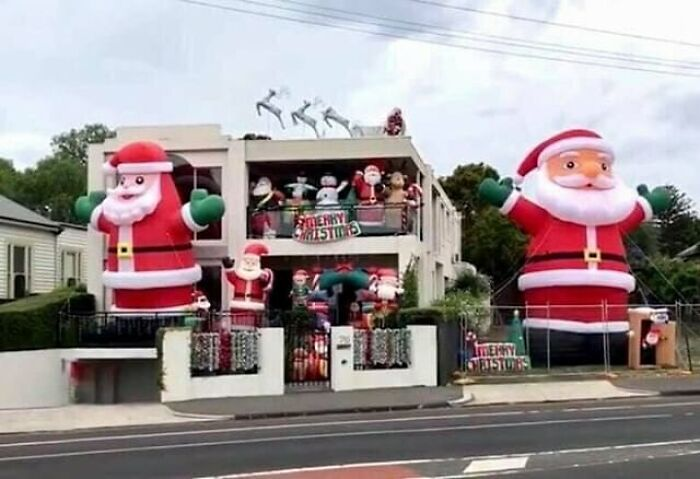 Hang On. Wait... What?! Your Therapist And Your Massive Inflatable Santa Supplier Are The Same Person?!