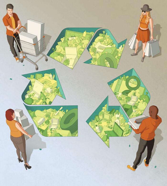 El mito del reciclaje