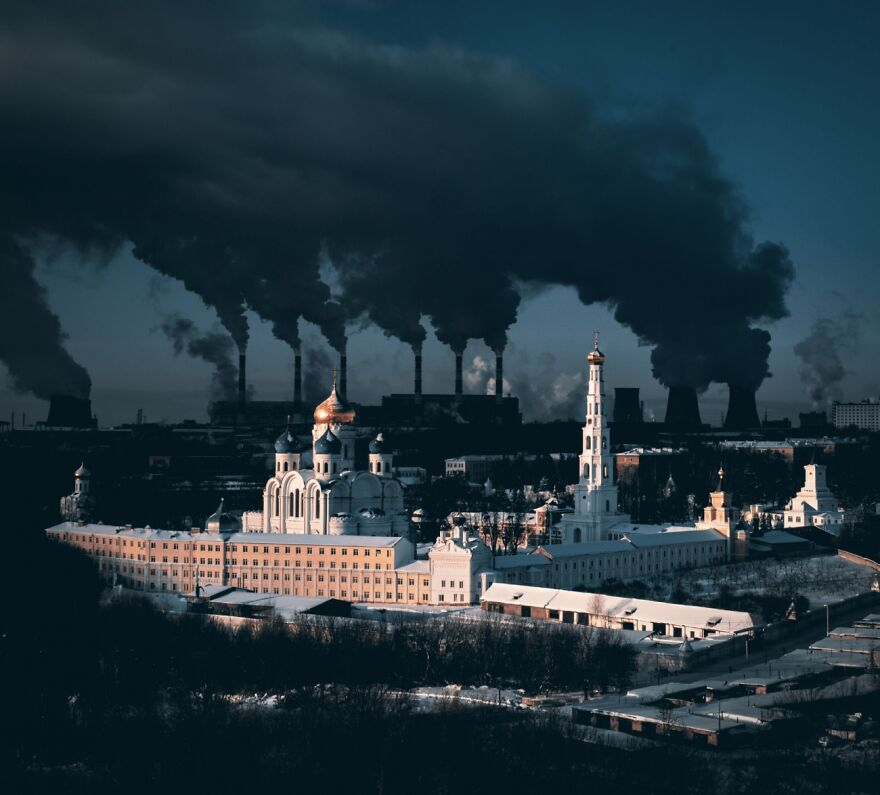 Metaphorical Statement About City And Winter By Sergei Poletaev (1st In Urban Category)