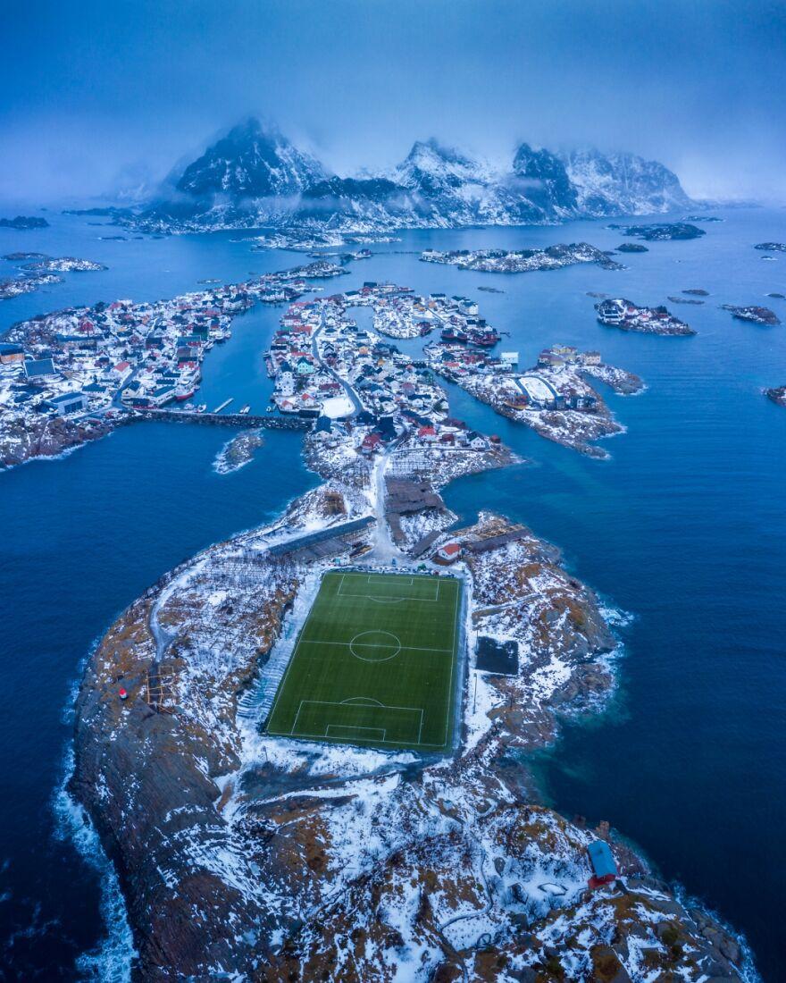 Henningsvær By Nando Harmsen (Highly Commended In Urban Category)