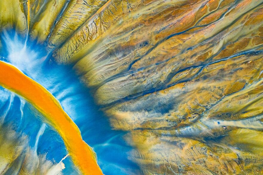 Poisoned River By Gheorghe Popa (1st In Abstract Category)