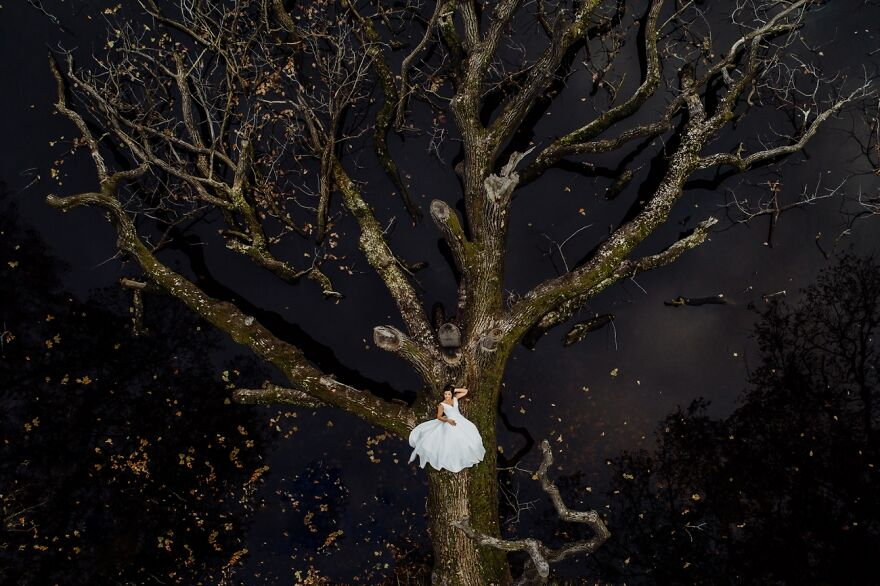Natural Bride By Krzysztof Krawczyk (Highly Commended In Wedding Category)