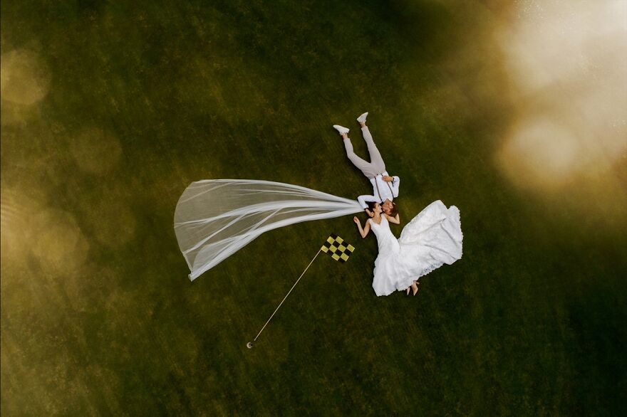 Golf Court Stories By Tobias Froehner (Highly Commended In Wedding Category)