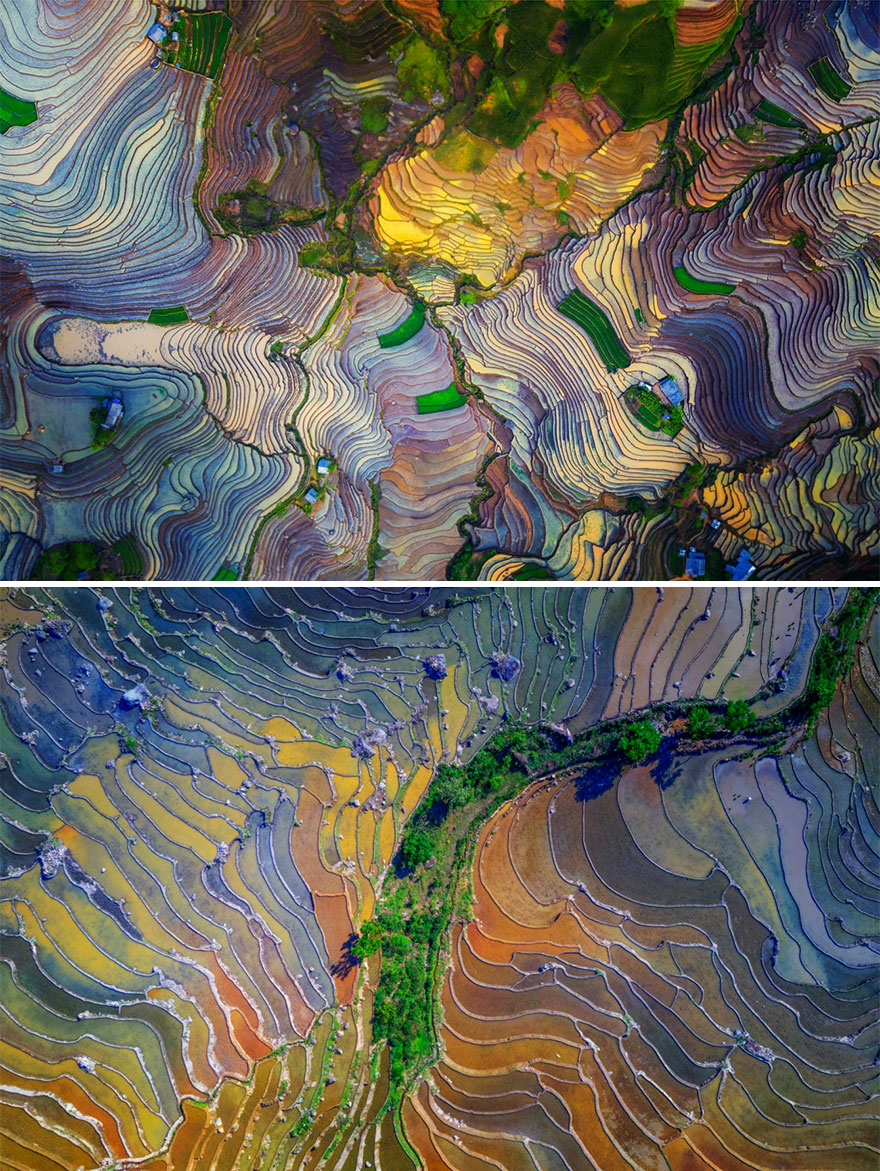 Colorful Terraces By Tuan Nguyen Tan (Highly Commended In Series Category)