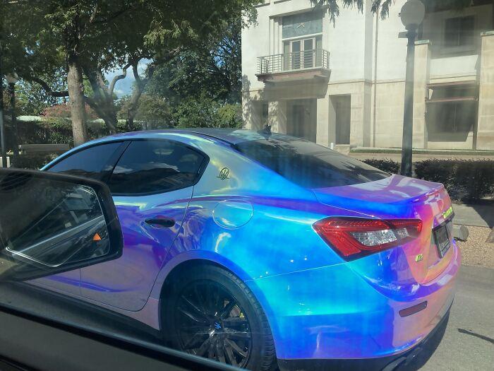 Blindingly Bright Car- Houston