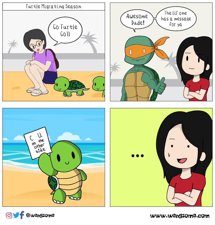 Savage Turtle Is Savage