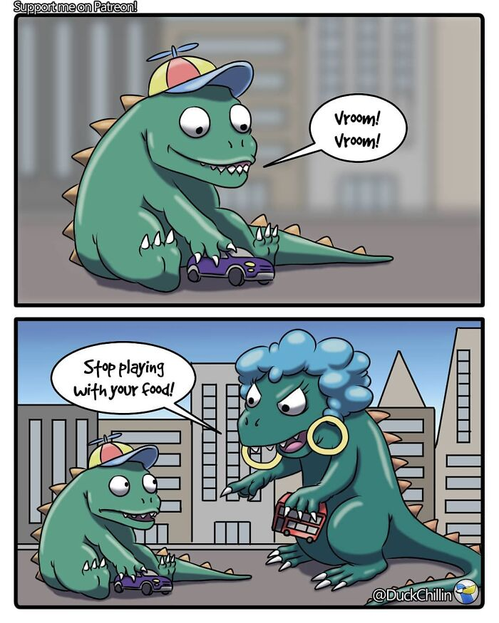 The 'Comic Dux' Black Humor Comics Will Make You Laugh