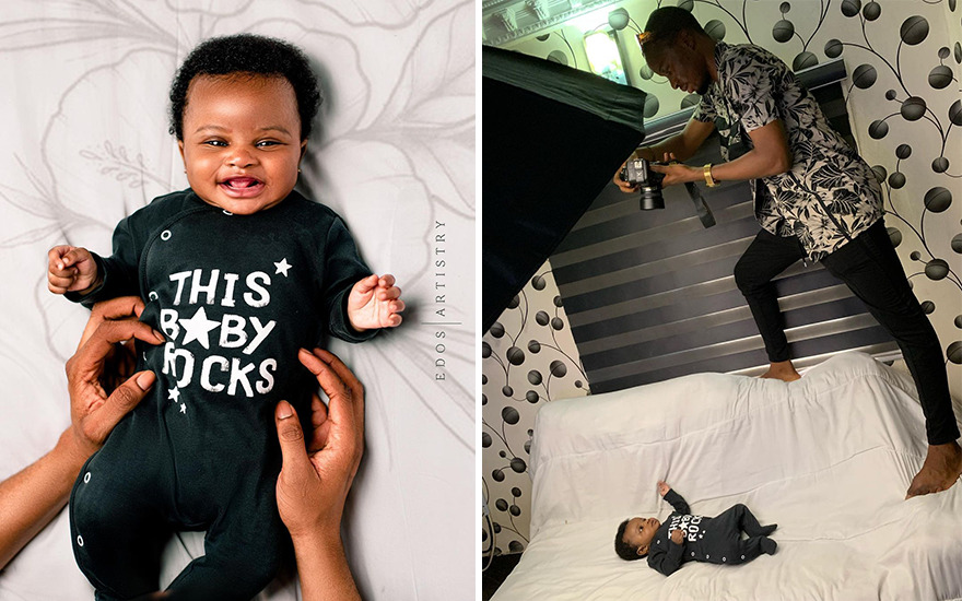 The Nigerian Photographer Takes Amazing Pictures Even Without A Studio And They Are Going Viral