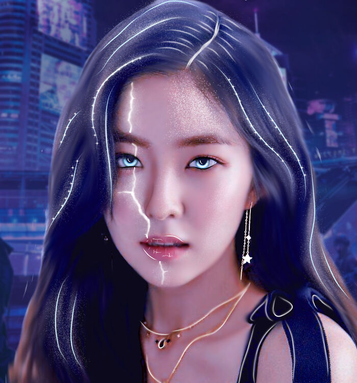 A Picture I Edited Of A K-Pop Idol