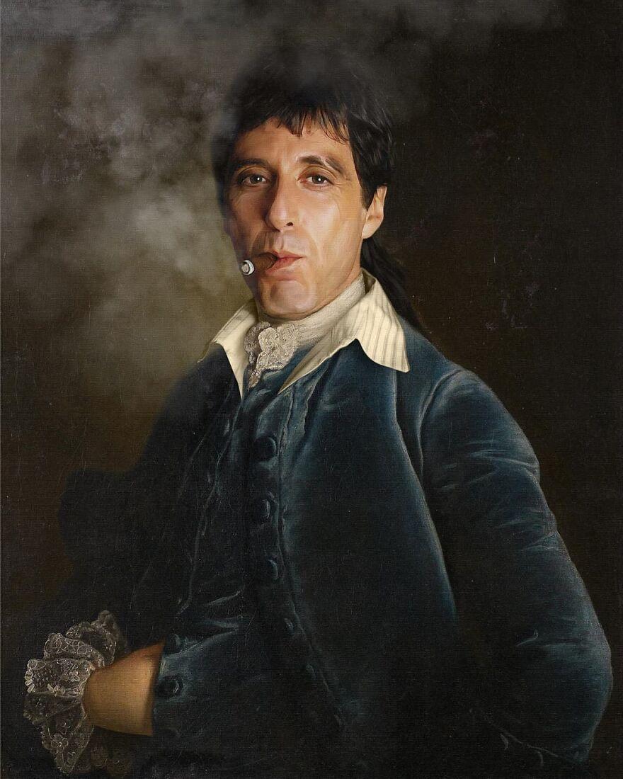 Al Pacino (Tony Montana)